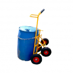DRUM TROLLEY – ALL TERRAIN – DHE-4WDT Pic 3