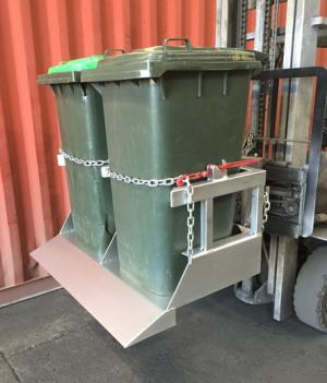 Forklift Bin Tippers