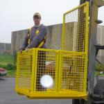 FORKLIFT SAFETY CAGE FULLY WELDED DHE-FSCW Pic 2