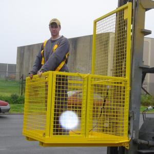 Forklift Safety Cages